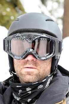 Liquid Image extreme goggle camera