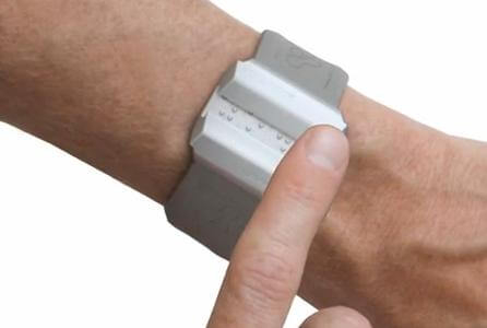 Haptica Braille watch