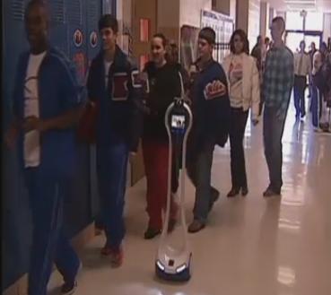 Lyndon Baty School Robot