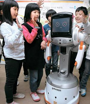 Robosem teaching in Korea