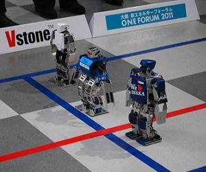 Robot marathon kicks off