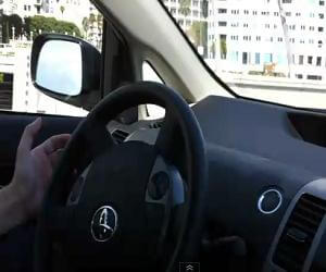 Google Car - Behind the Wheel