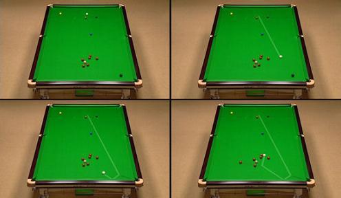 Hawkeye in Snooker