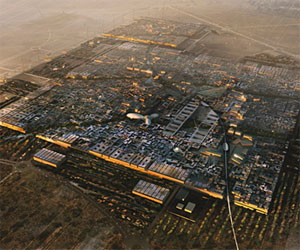 Masdar City concept art