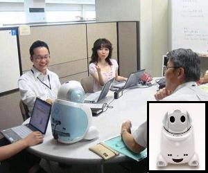 PaPeRo office telerobot