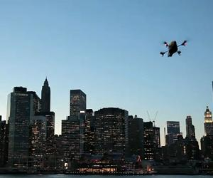 Parrot AR Drone hits NYC