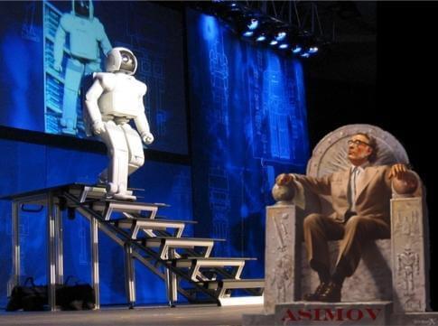 Asimov's Three Laws of Robotics pic