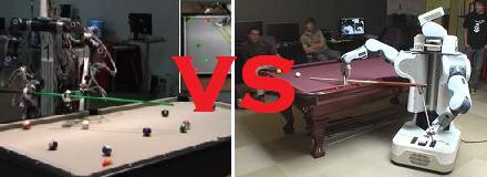 Robot Pool vs