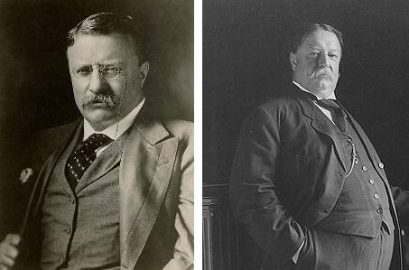 Taft vs Roosevelt