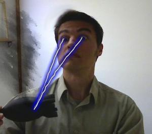 Facedotcom lasereyes
