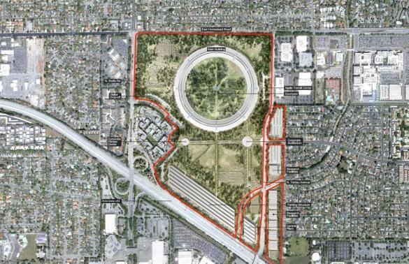 Apple Campus 2 - overlay
