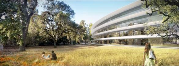 Apple Campus 2 - render 1
