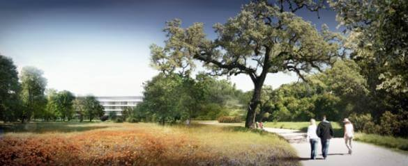 Apple Campus 2 - render 6