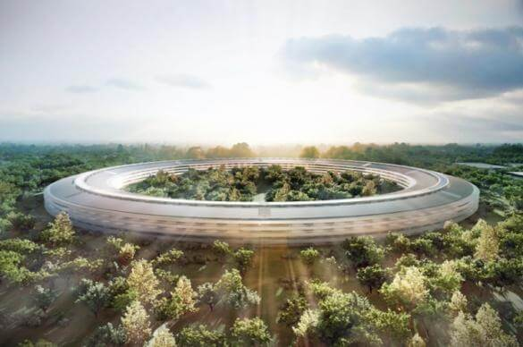 Apple Campus 2 - render opening