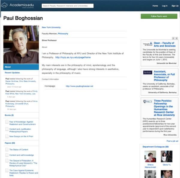 AcademiaDOTedu profile