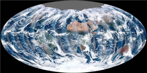 NPP Satellite Image