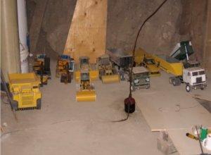 Basement RC excavation team