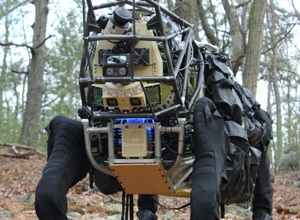 Boston Dynamics Takes Alpha Dog Military Robot Out For Its First Walk
