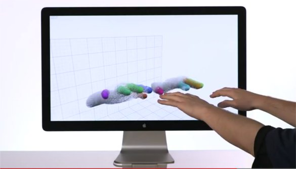 Leap Motion demo