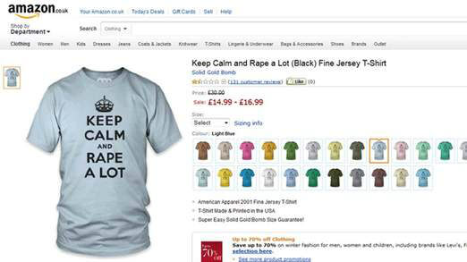 keep calm amazon
