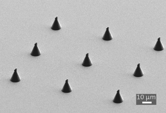 nanoscribe microneedles
