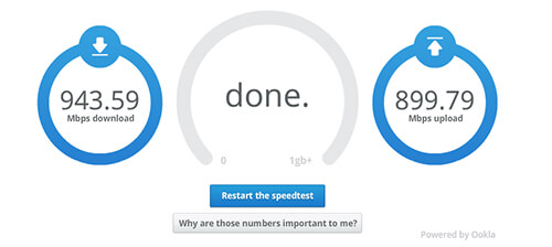 Google Fiber speedtest - Singularity Hub