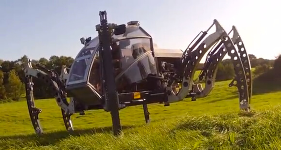Meet The Two-Ton Robotic Mantis: A Hexapod You Can Ride In
