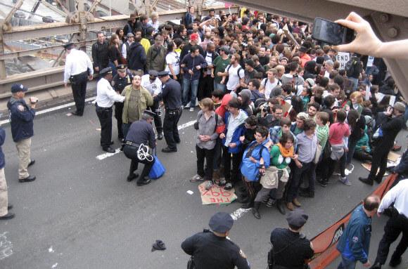 protest smartphone
