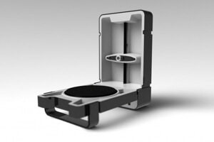 MatterForm 3D scanner. Will ship to Indigogo backes in XX.