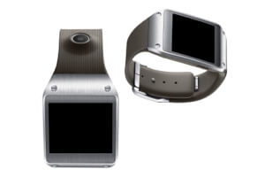 Samsung Galaxy Gear smartwatch.