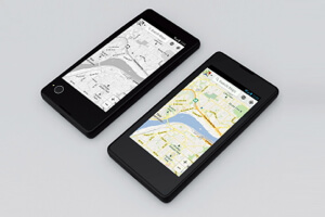Add maps or boarding passes to the e-ink display and consult them without using up your battery.