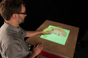 Smart surfaces like inFORM could be used to manipulate 3D models or visualize data.