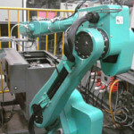 An existing Foxconn robot