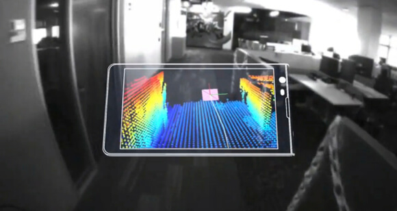 Google Adds Kinect-Like 3D Sensing to New Prototype Smartphones