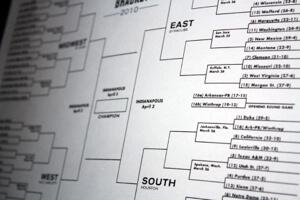 NCAA basketball tournament bracket