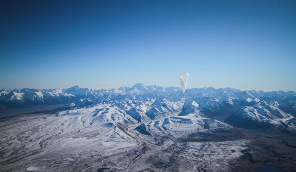 Project Loon balloons like this one are part of Google's plan to broaden internet access from on high.