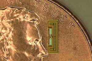 Arbabian's tiny Internet of Things chip powered by radio waves.