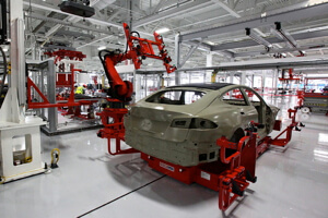 Car assembly lines have long been automated, but some manufacturing jobs still require a human touch.