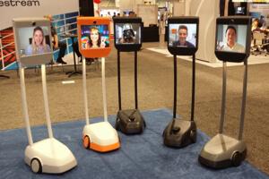 Beam telepresence robots.