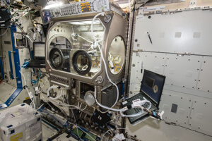 Made in Space 3D printer installed on the International Space Station.