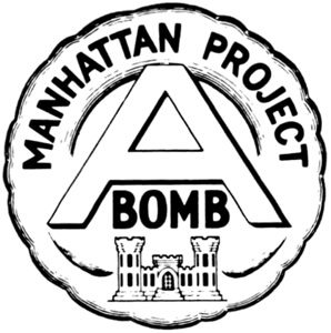 Manhattan Project emblem.