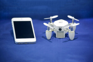 Zano, a Kickstarter-backed quadcopter.