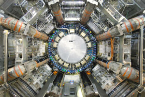 Atlas detector at the Large Hadron Collider.