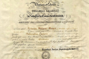 Universities have issued paper diplomas as proof of completion for hundreds of years.