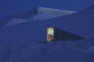 Svalbard Global Seed Vault in Norway.