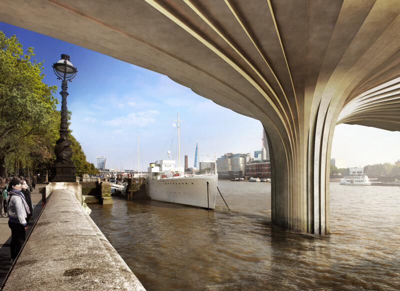 1-Garden Bridge_Underbridge View
