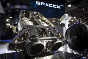 SpaceX 3D printed main oxidizer valves (MOVs).