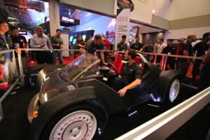 Local Motors 3D printed car.