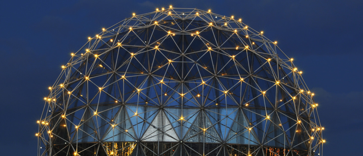 How excited would buckminster fuller be at the prospect of - The geodesic dome in connecticut call of earth ...