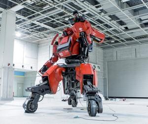 Suidobashi Kuratas robot.